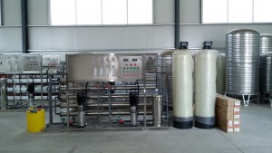 1吨全套纯净水生产设备